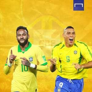 Neymar và Ronaldo de Lima ai xuất sắc hơn? HLV Tite có câu trả lời