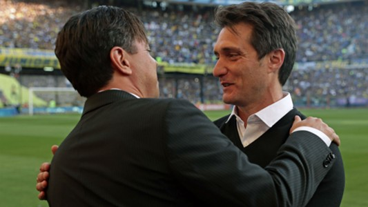 Gallardo Guillermo Barros Schelotto Boca River Superclasico Superliga 23092018