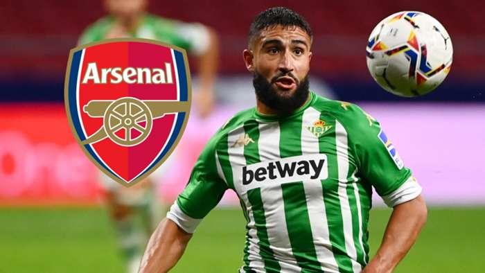Nabil Fekir Arsenal GFX