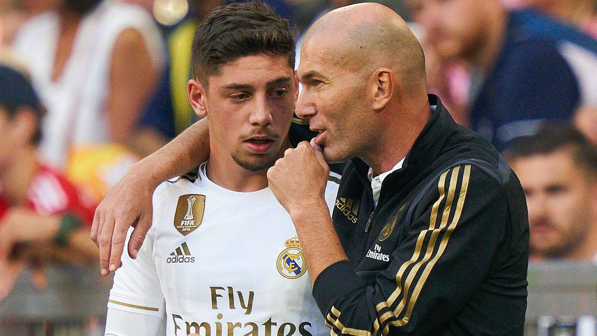 """Real Madrid - Valverde : """"Zidane te parle comme s'il était ton ami"""""""