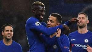 Tiemoue Bakayoko Eden Hazard Chelsea