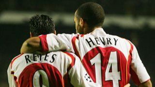 Jose Antonio Reyes Thierry Henry Arsenal