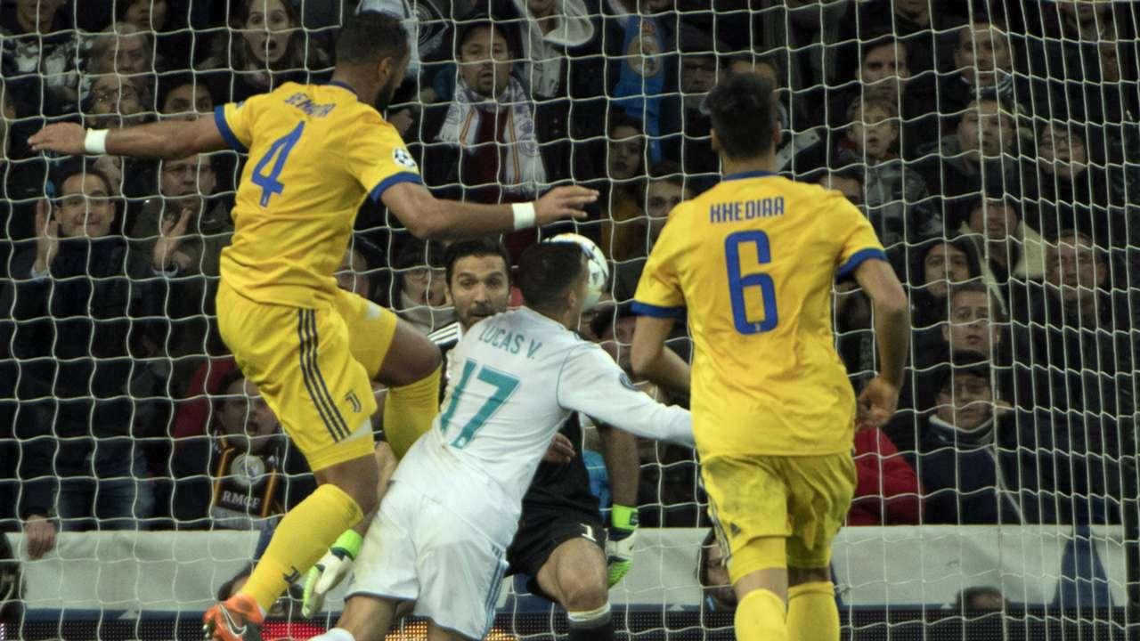 Lucas Vazquez Medhi Benatia Juventus Real Madrid UEFA Champions League