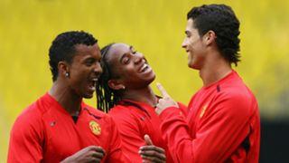 Nani Anderson Cristiano Ronaldo Manchester United