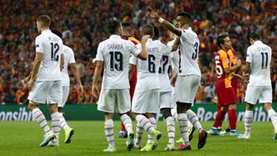 PSG goal celebration vs Galatasaray UCL 10012019