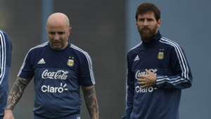 Sampaoli Messi Argentina 290817