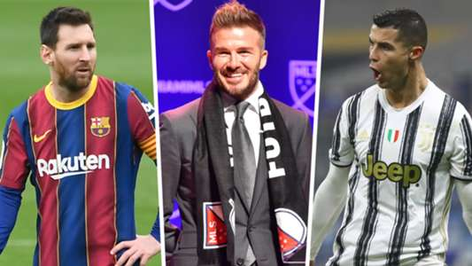 Beckham reveals interest in Messi & Ronaldo as Man Utd legend eyes marquee additions at Inter Miami | Goal.com