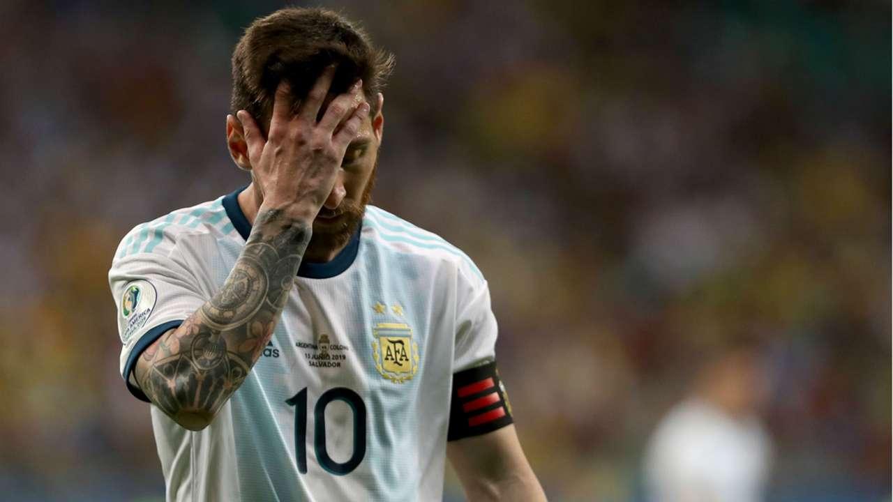 Lionel Messi Argentina Colombia Copa America 2019