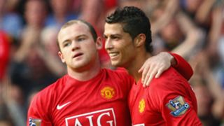 Wayne Rooney Cristiano Ronaldo Man Utd
