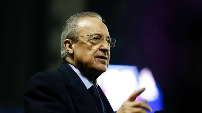 Florentino Perez Real Madrid 2021