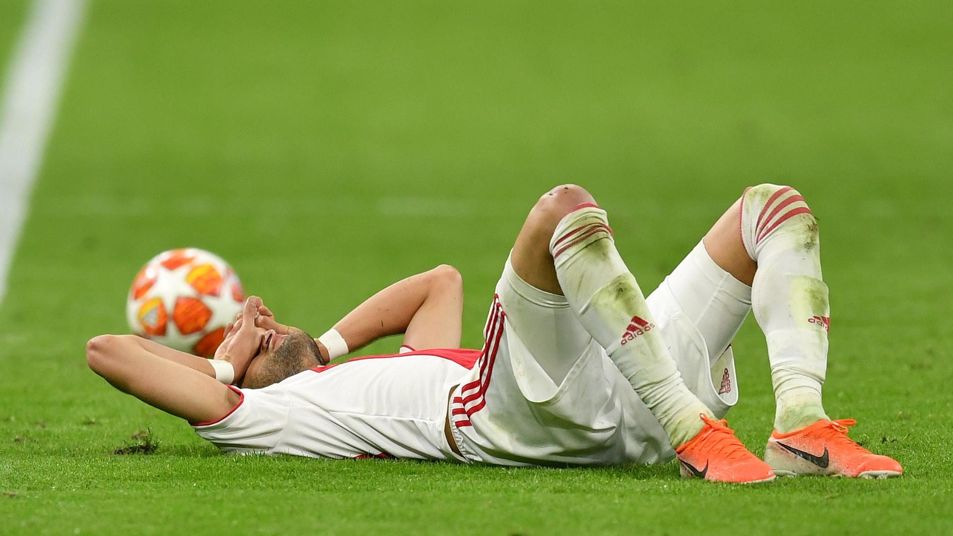 Ajax provide injury update on Hakim Ziyech