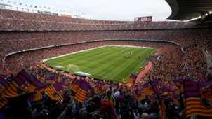 Camp Nou Barcelona general view