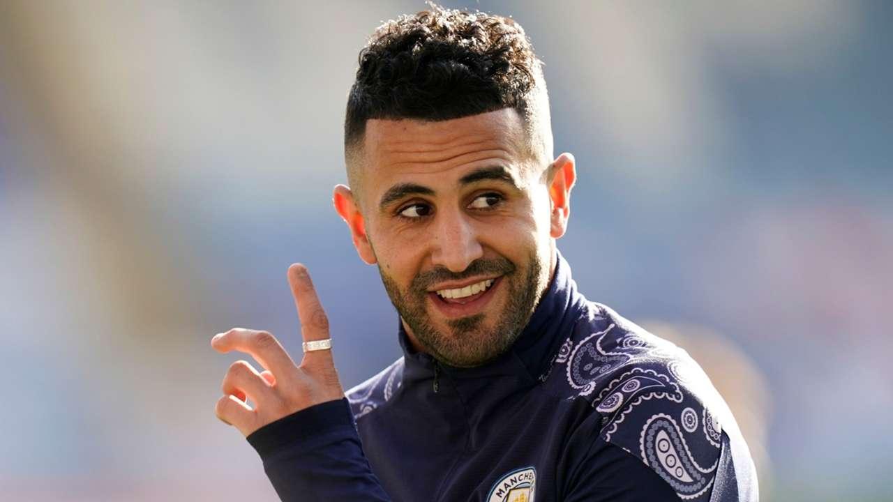 Riyad Mahrez Leicester vs Man City Premier League 2020-21