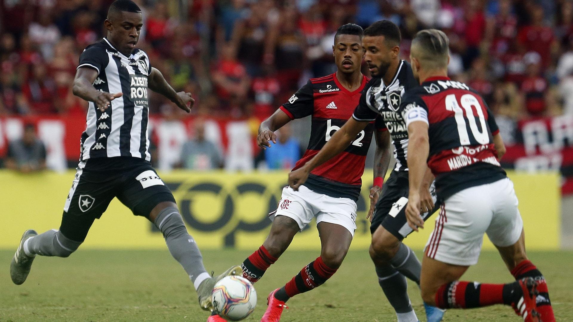 Flamengo X Botafogo Quem Venceu Mais Vezes O Classico Da Rivalidade Goal Com