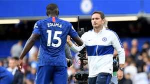Kurt Zouma Frank Lampard Chelsea