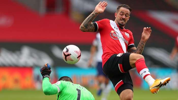 Handball Danny Ings Southampton Tottenham2020-21