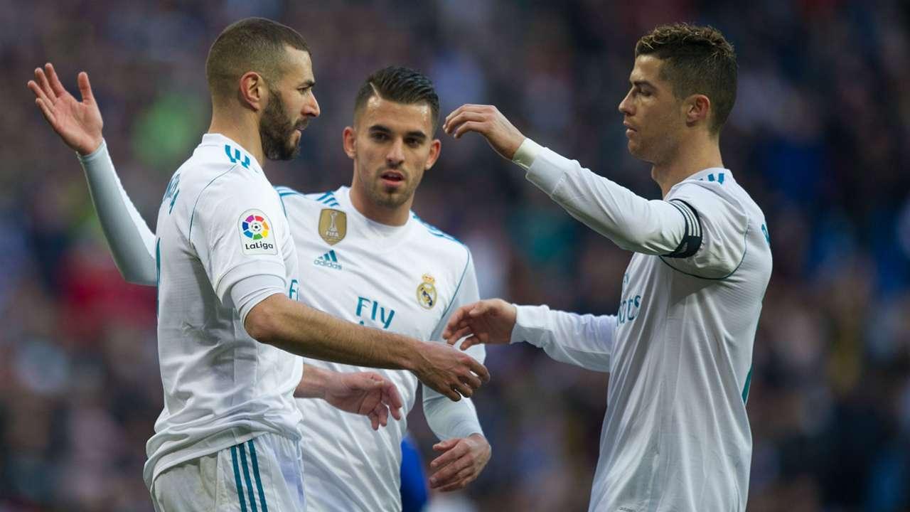 Karim Benzema Cristiano Ronaldo Real Madrid La Liga