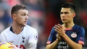Kieran Trippier Tottenham Hirving Lozano PSG