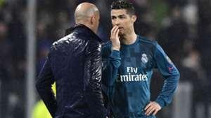 Zidane Cristiano Ronaldo Juventus Real Madrid Champions League