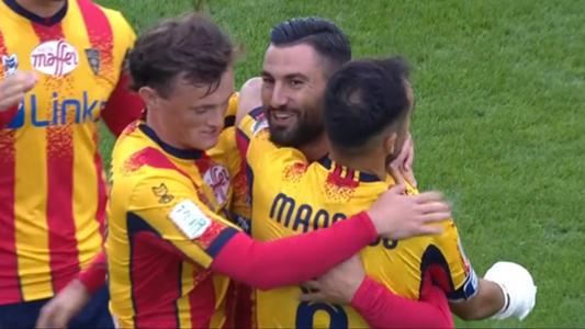 Lecce-Reggiana col pallottoliere: clamoroso 7-1 per i salentini ...