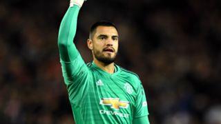 Sergio Romero Manchester United 2018-19