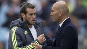Gareth Bale Zinedine Zidane Real Madrid