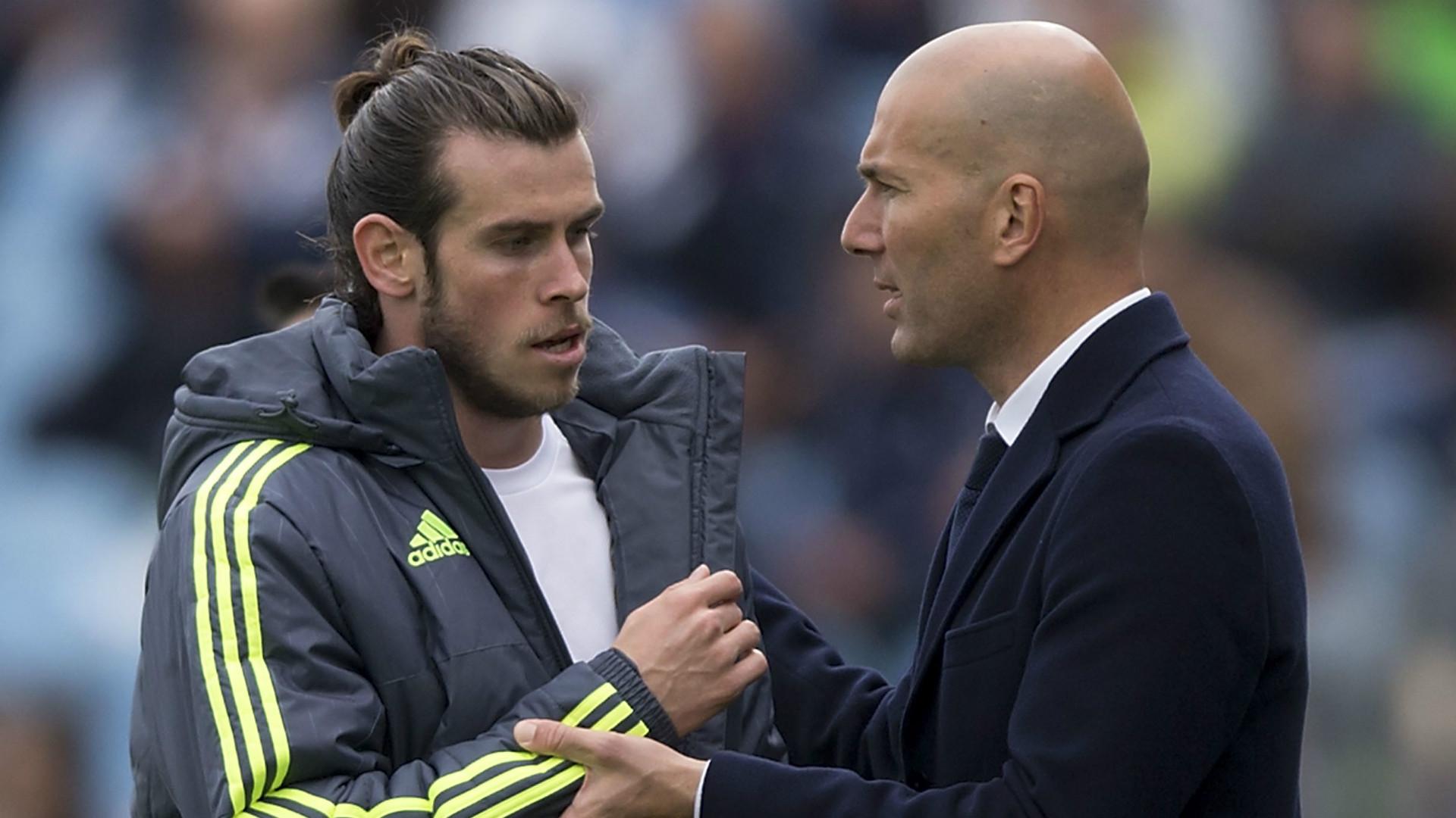 """Zinedine Zidane """"n'a jamais eu de problème avec Bale"""" au Real Madrid"""