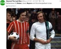 Franz Beckenbauer & Gunter Netzer
