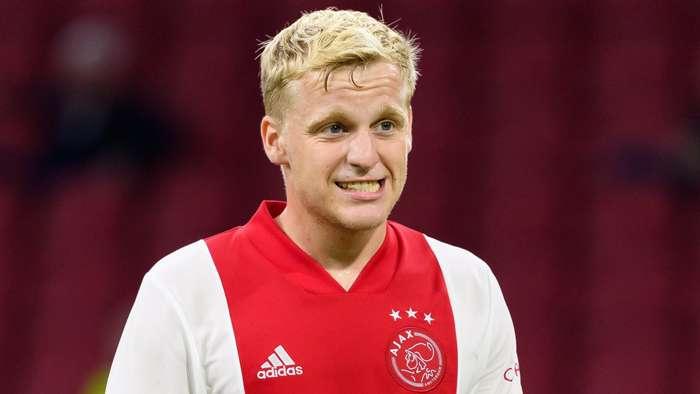 Donny van de Beek Ajax 2020-21