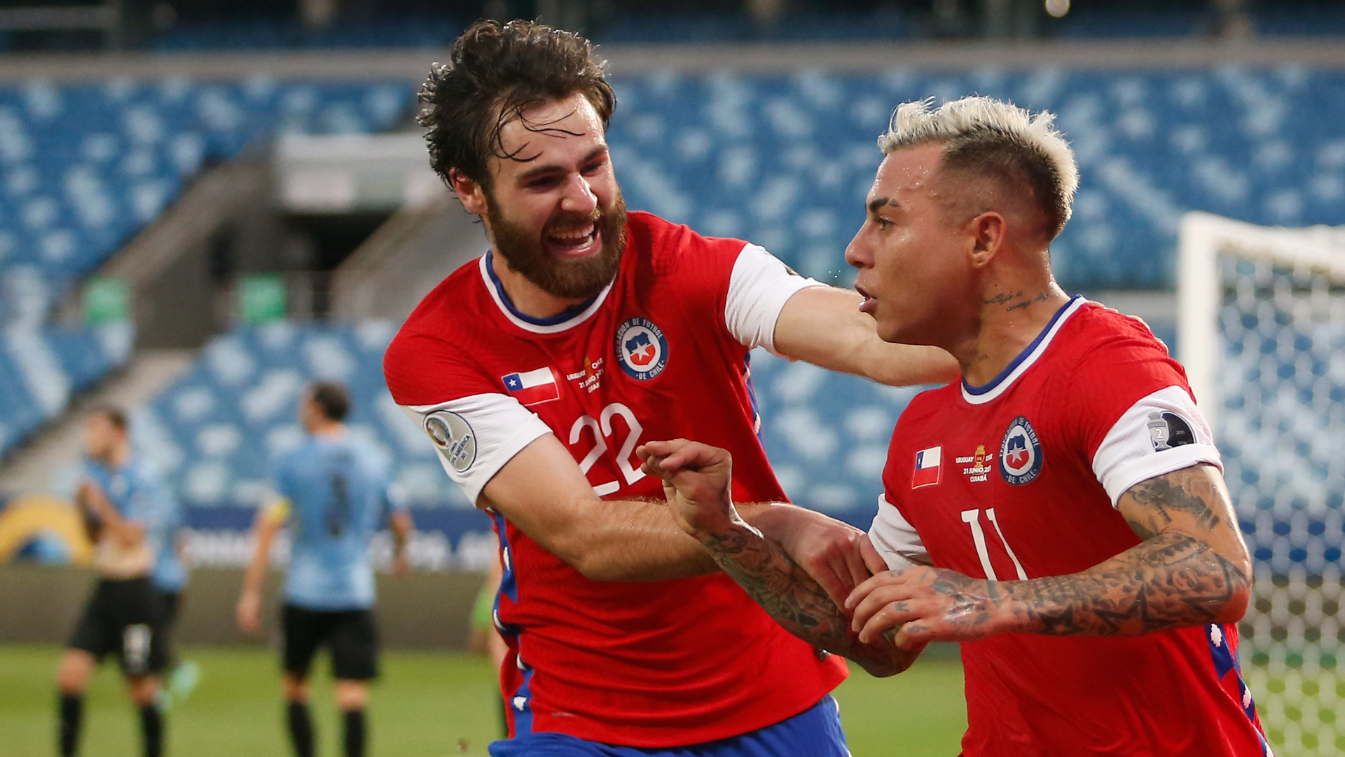 Uruguay vs. Chile en vivo por la Copa América: partido online, resultado y formaciones   Goal.com