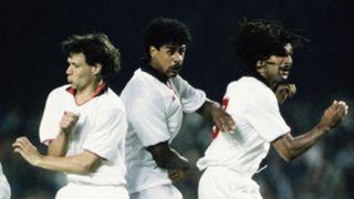 Van Basten Rijkaard Gullit AC Milan