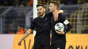 Raphael Guerreiro Marco Reus Borussia Dortmund Fortuna Dusseldorf 07122019 Bundesliga
