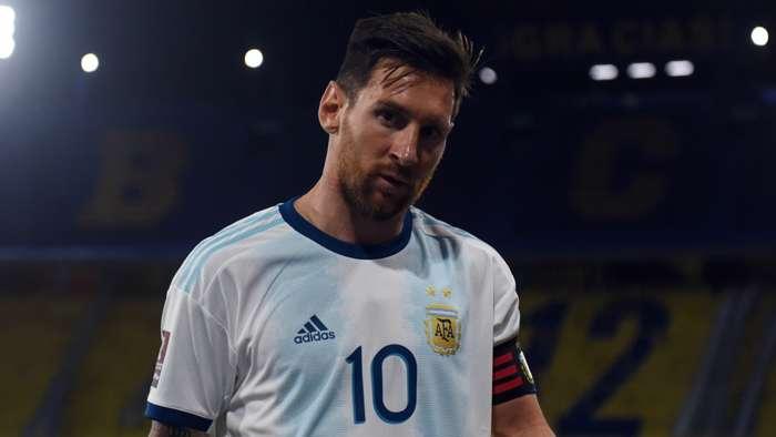Lionel Messi, Argentina 2020