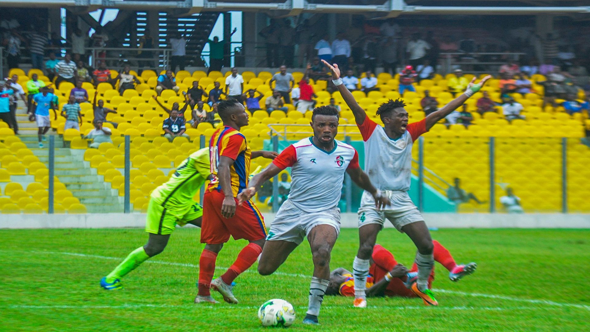 GPL: Hearts of Oak boss Odoom reacts to giving away two leads in Ashanti Gold draw