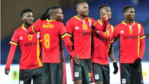 Uganda v Ivory Coast in Chan 2018.