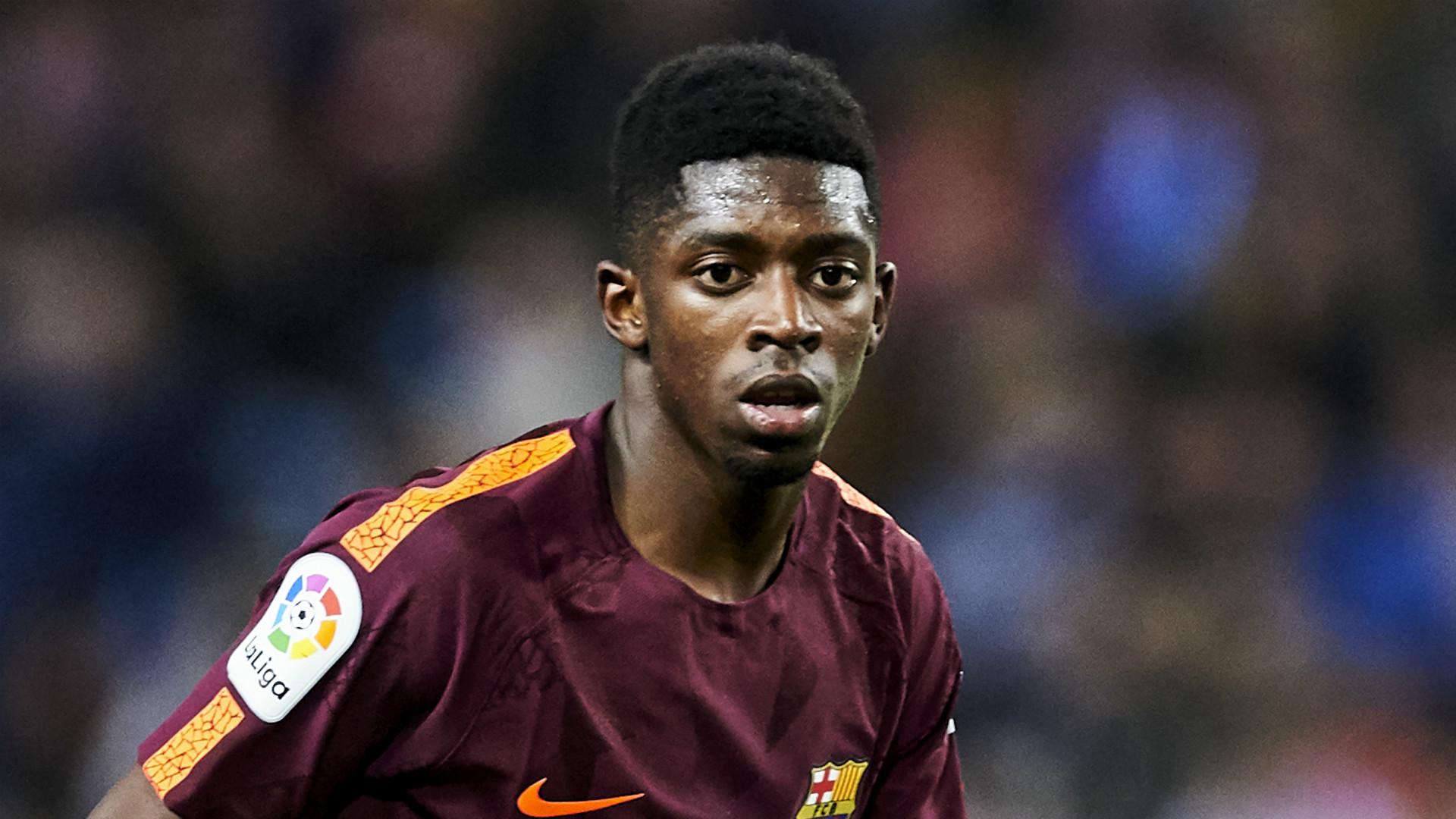Ousmane Dembele Barcelona 2017-18