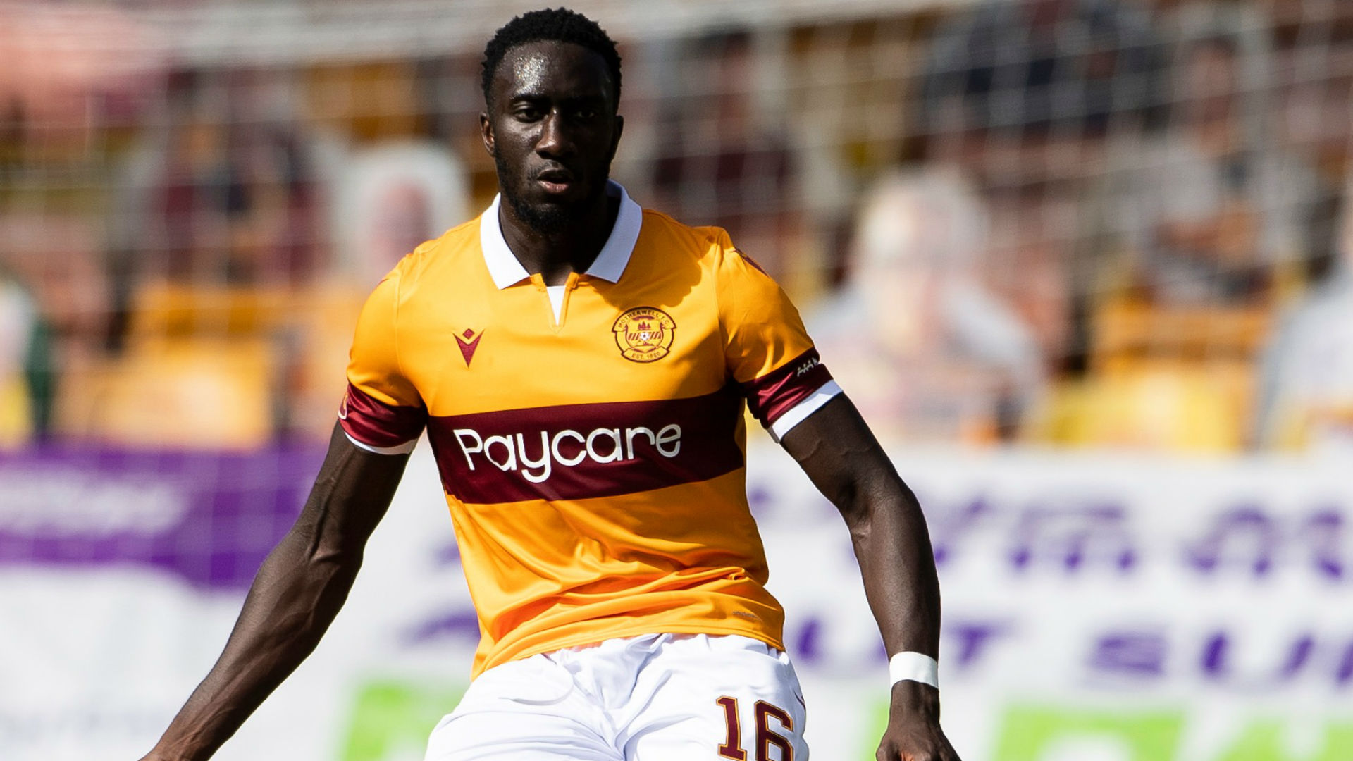 Mugabi: Uganda suffer blow as Motherwell FC defender ruled out for six weeks