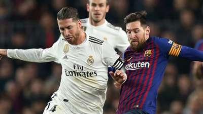 Sergio Ramos Lionel Messi Barcelona Real Madrid Copa del Rey 06022019