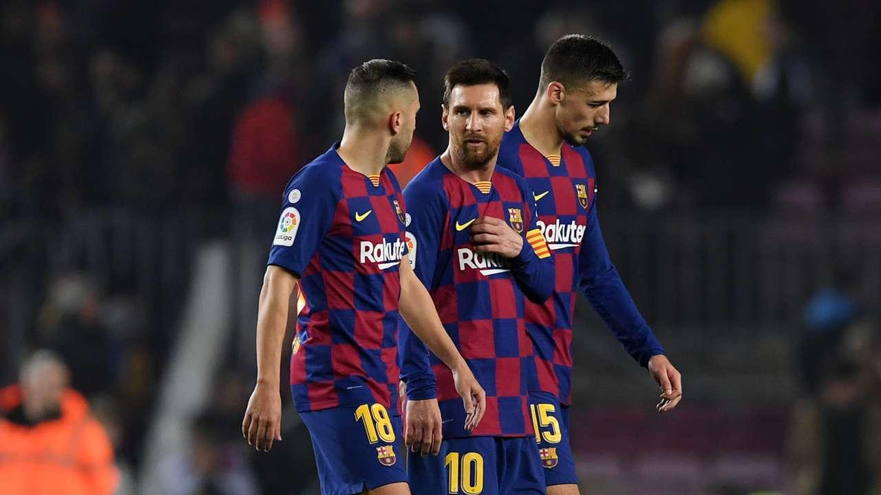 Jordi Alba/Lionel Messi Barcelona 2019-20