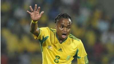 Siphiwe Tshabalala represents Bafana Bafana