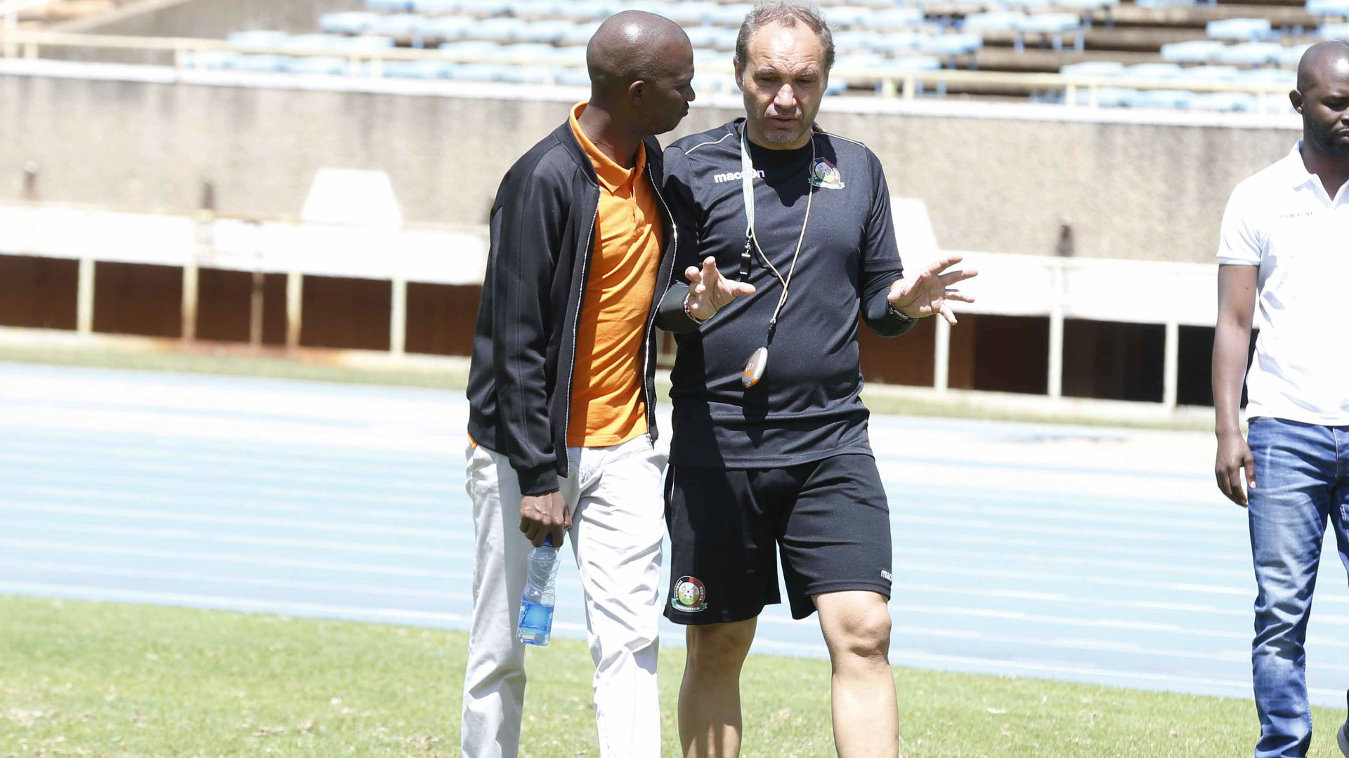 Migne: Frenchman threatens to report FKF to Fifa if dues are not settled