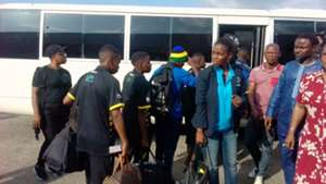 Tanzania U20 women land in Benin City