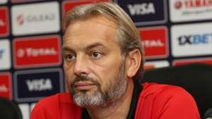 Sebastien Desabre coach of Uganda during the 2019 Africa Cup of Nations Finals.