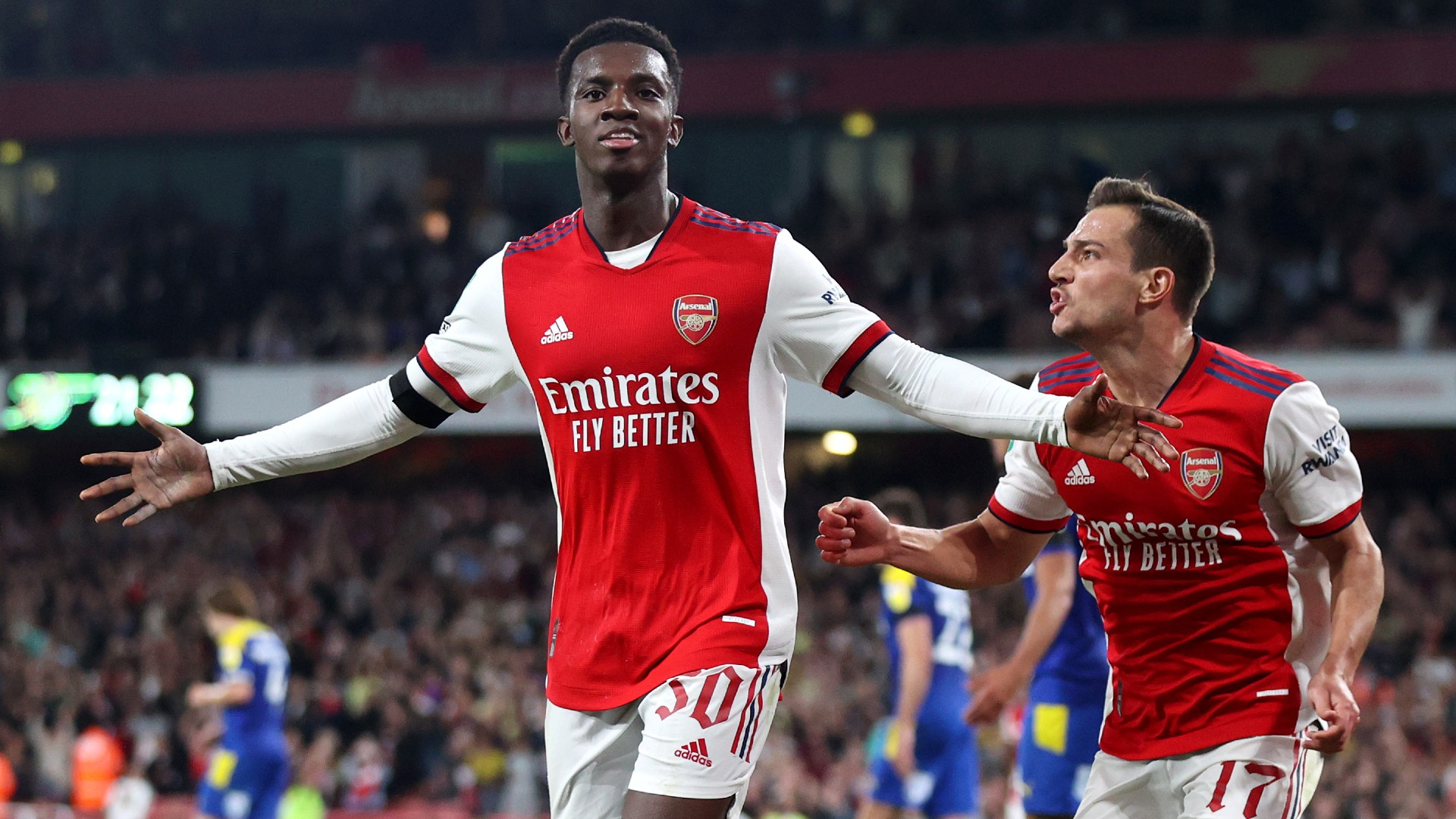 'I have no doubts about what he can offer' – Arsenal's Arteta gushes over Nketiah's display vs Leeds United