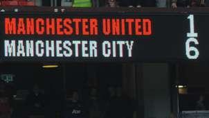 Manchester United City scoreboard