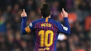 Lionel Messi Barcelona Real Valladolid La Liga 16022019