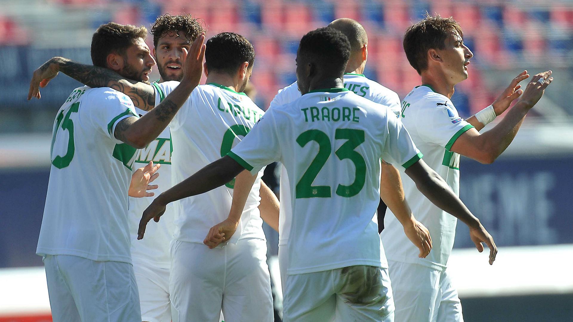 Bologna-Sassuolo 3-4: il Derby è neroverde, rimonta clamorosa