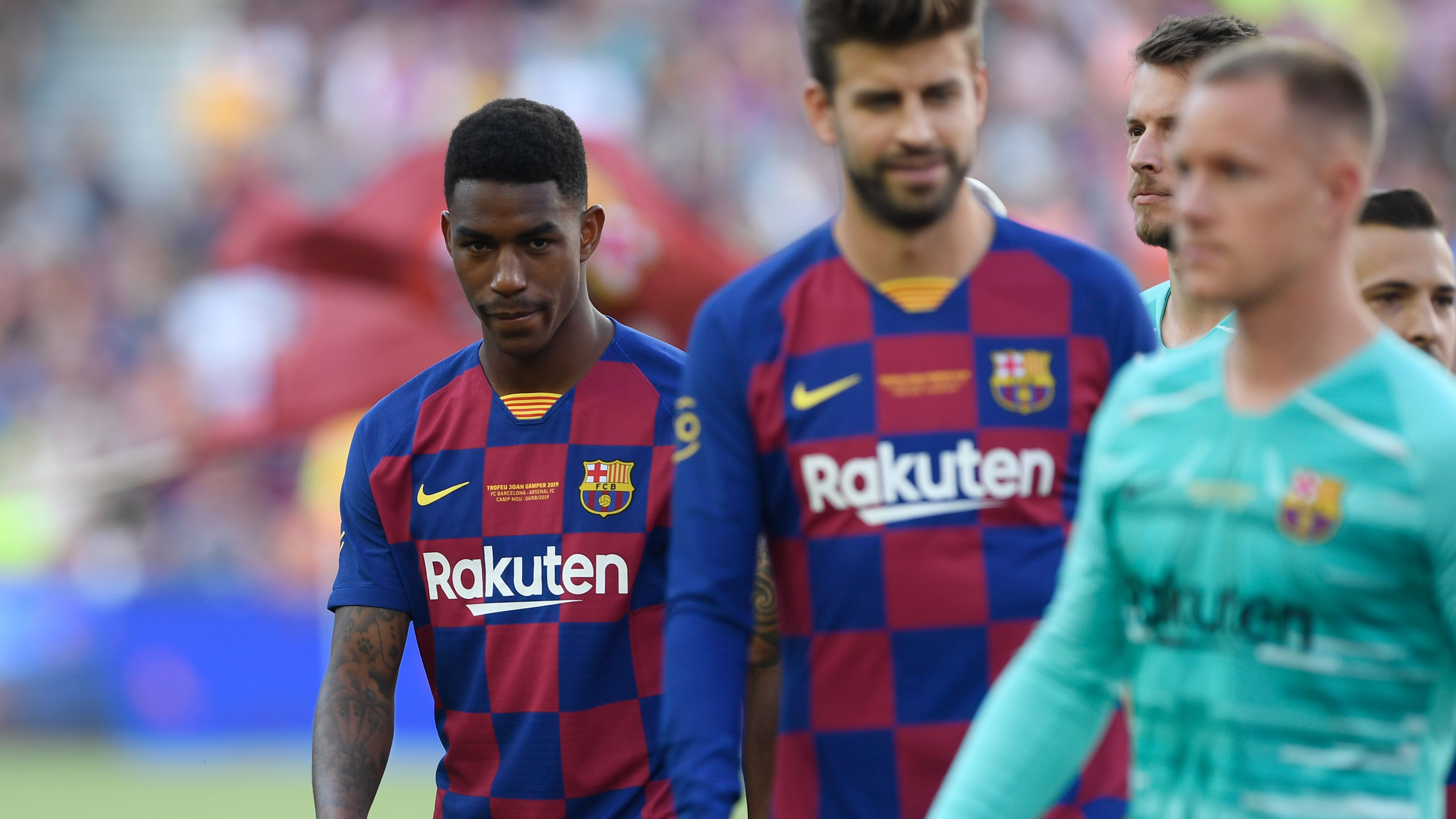 Barcelona News Old Lionel Messi Tweets Come Back To Haunt New Recruit Junior Firpo Goal Com