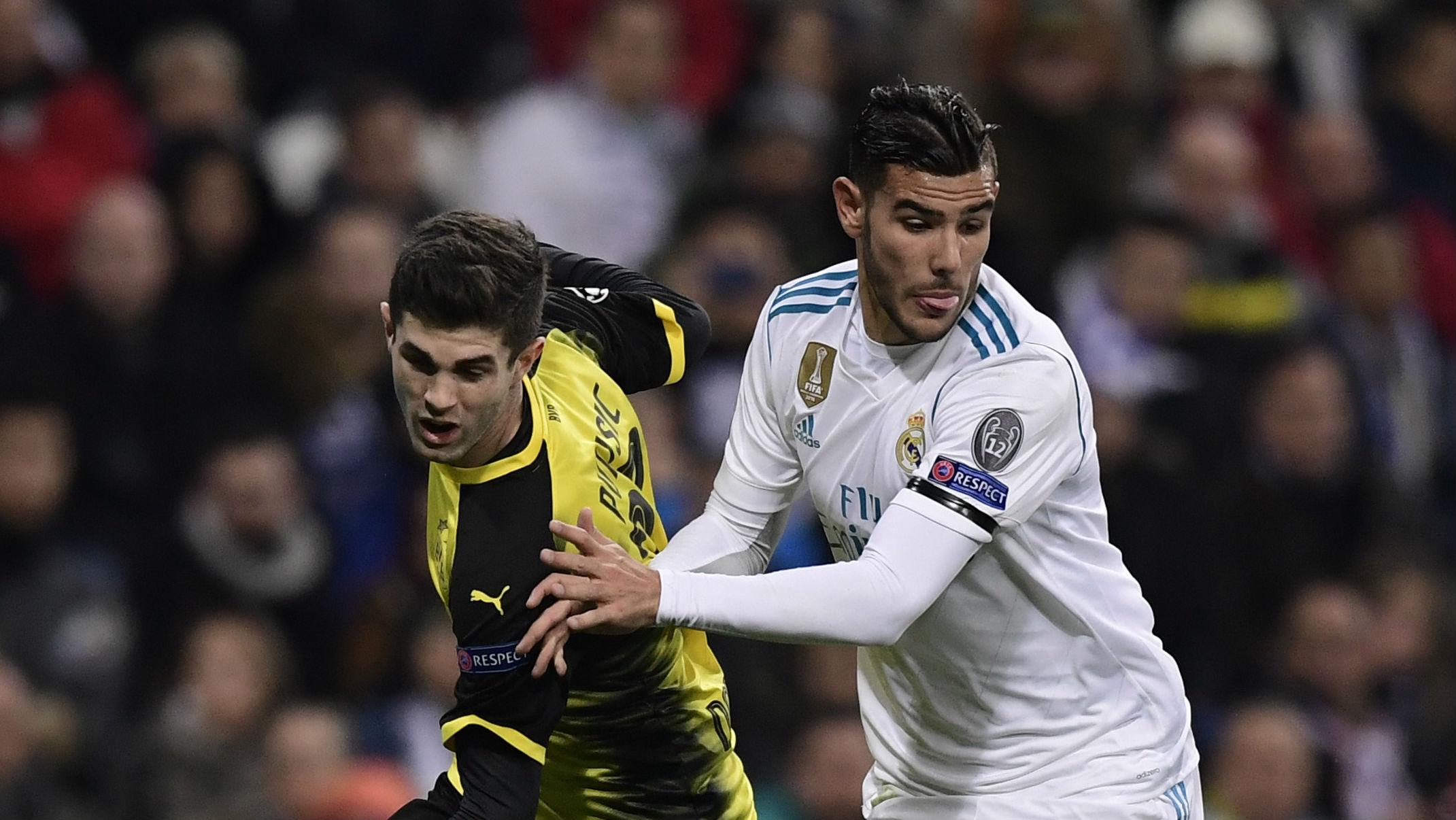 Christian Pulisic Sergio Ramos Dortmund Real Madrid