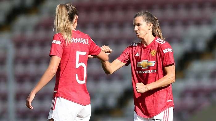 Tobin Heath Abbie McManus Manchester United Women 2020